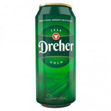 Sör Dreher Gold 0,5L Dob.