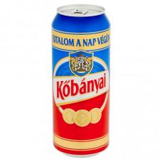 Sör Kõbányai világos 0,5l dob.FIX1